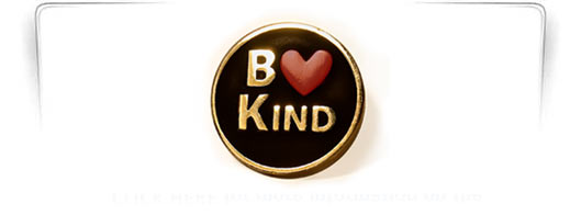 Image of Be Kind lapel pin