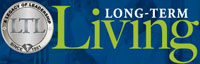 Logo of Long Term Living Magazine for managers of nursing home and assisted living