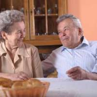 Nursing home residents who are in love