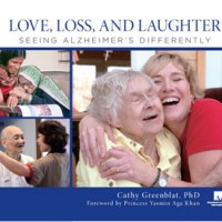 Cover of Love, Loss, and Laughter promotional material.