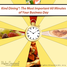 Image of Kind Dining: The Most Important 60 Minutes of Your Day