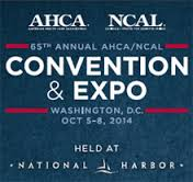 AHCA/NCAL 65th Annual Convention logo