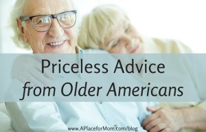 Priceless Advice from Older Americans (SENIOR VOICES) 032416